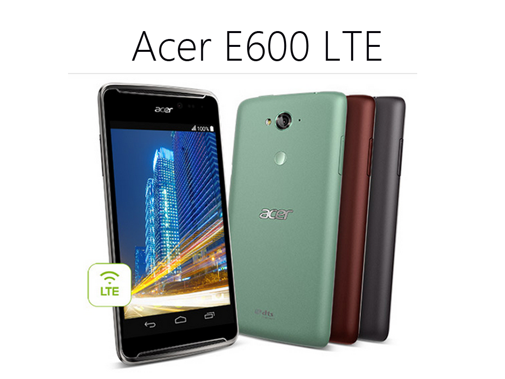 Acer Liquid E600 LTE Now Available On Villman.  Priced At Php 8,988!
