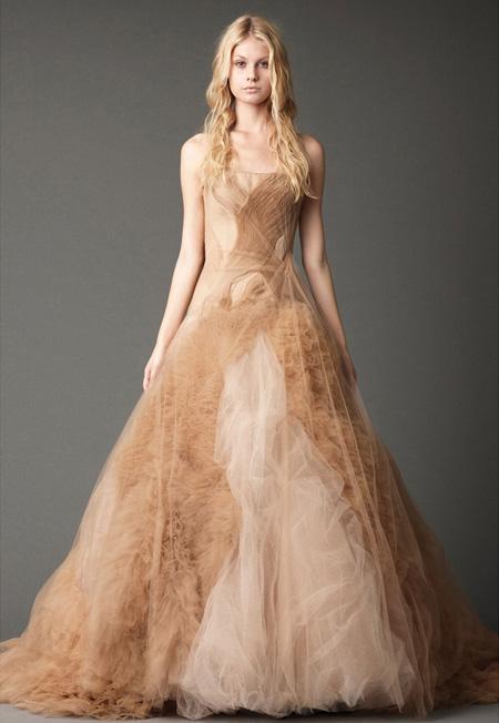 Prinzessin Träume: Brautkleider von Vera Wang für 2012 Herbst
