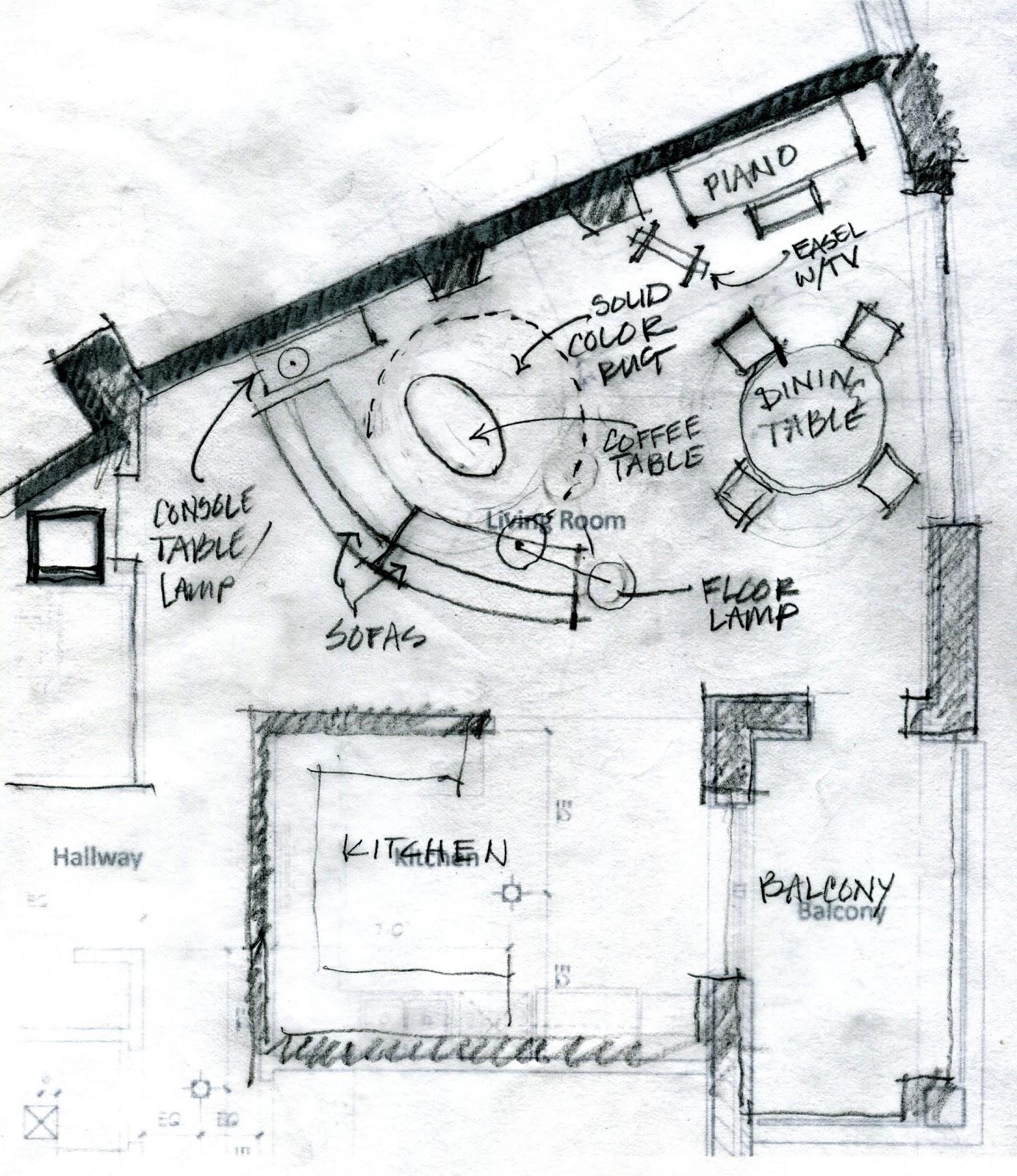Irregular kitchen layouts for Irregular house plans