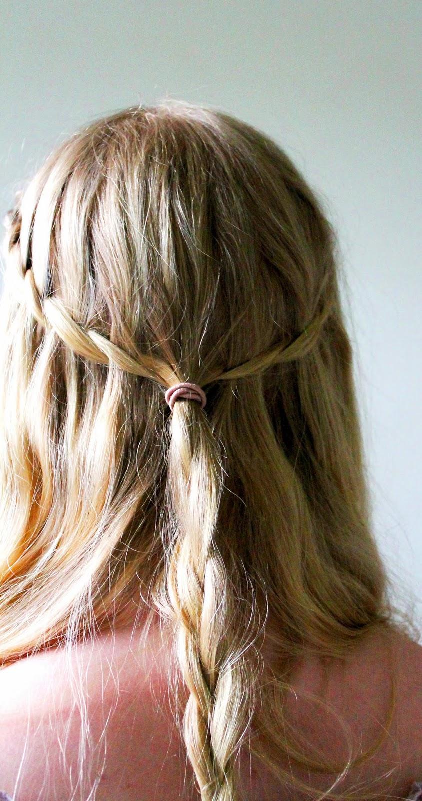 Game of thrones waterfall braid how to | Alinan kotona blog