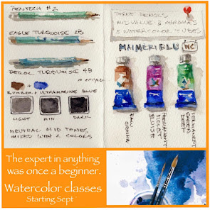 Fall Watercolor Classes
