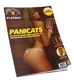 Revista Playboy Panicats Setembro 2011