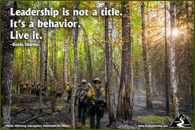Leadership is not a title. It's a behavior. Live it.  –Robin Sharma