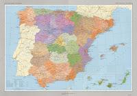 Mapa político España descarga