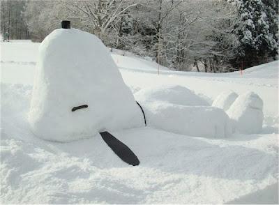 Αστείοι χιονάνθρωποι-1