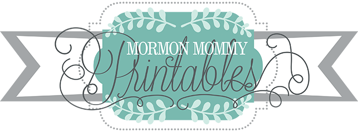 Mormon Mommy Printables