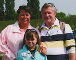 Franca, Fleur and Darren