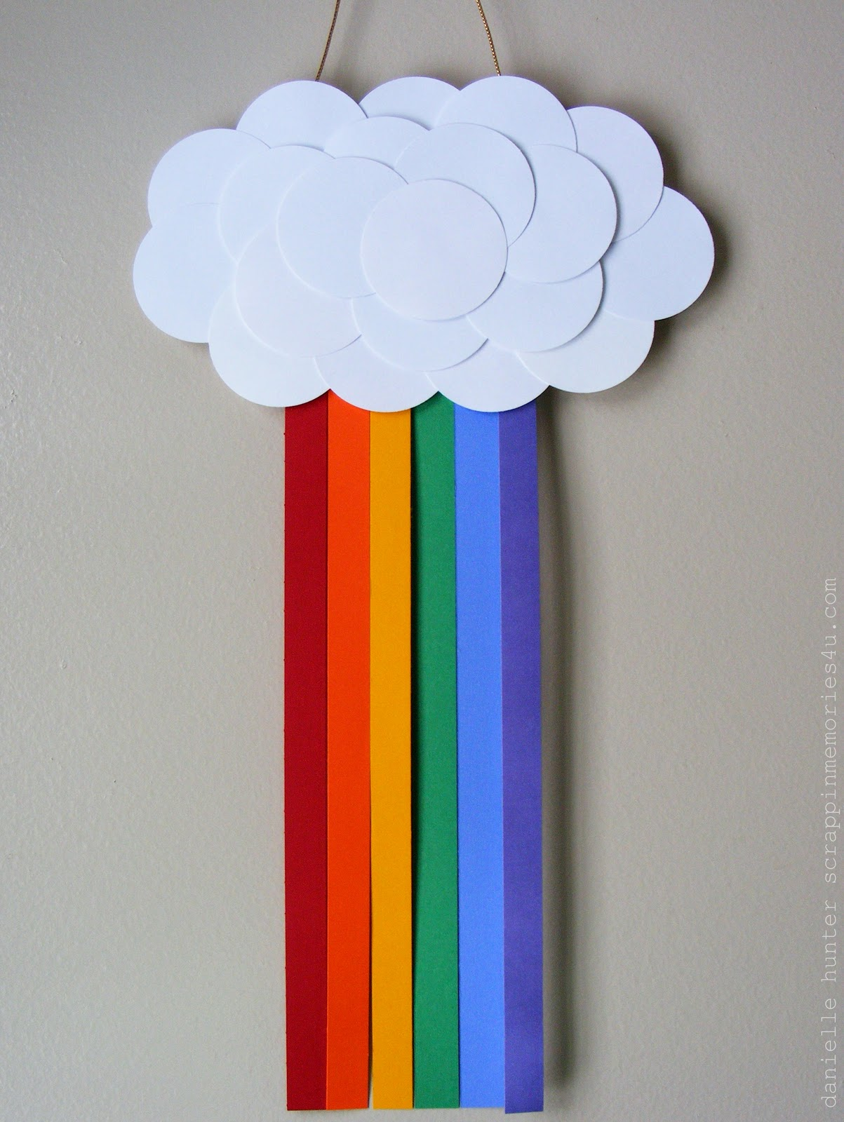 Поделки облака из картона