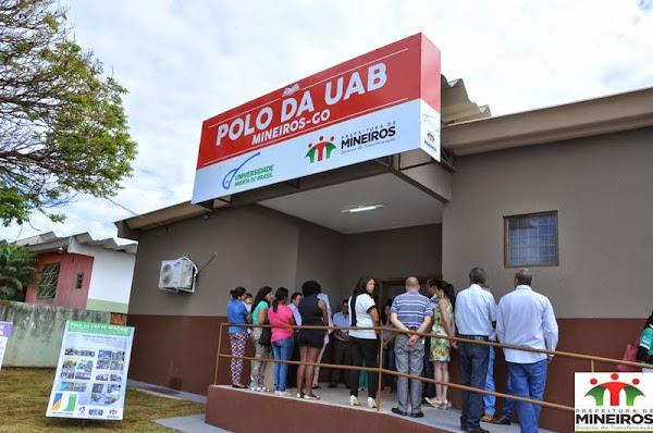 UAB - UNIVERSIDADE ABERTA DO BRASIL -  POLO UNIVERSITÁRIO DE APOIO PRESENCIAL DE MINEIROS-GO