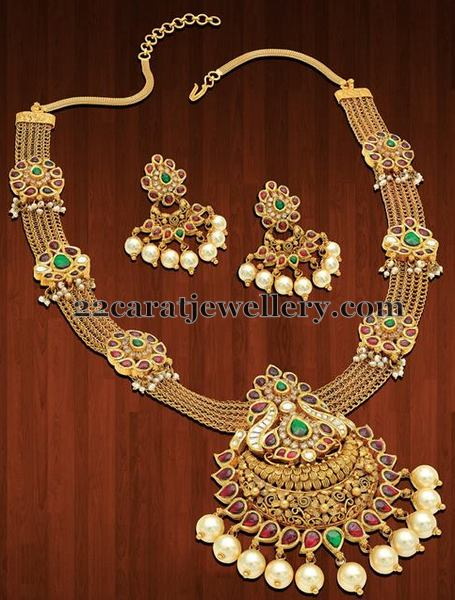 Radiant Necklace Sets by Neelkanth Jewellers