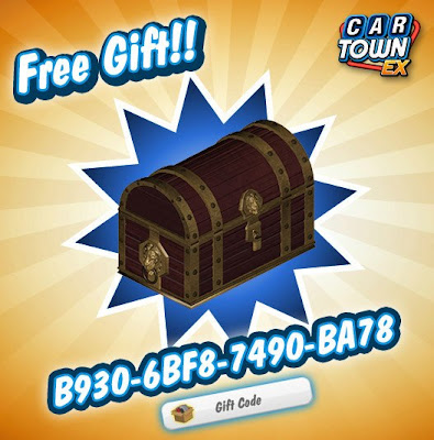 Car Town EX Free Gift Cofre