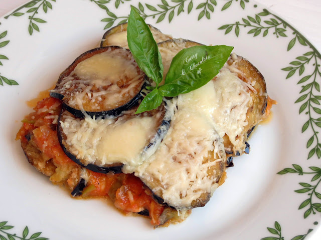 Berenjenas a la Parmesana - Melanzane alla Parmigiana – Eggplant Parmesan