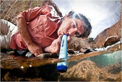 LifeStraw -Purificador de Água Portátil de emergência
