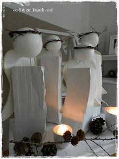 wei ein hauch ros diy engel. Black Bedroom Furniture Sets. Home Design Ideas