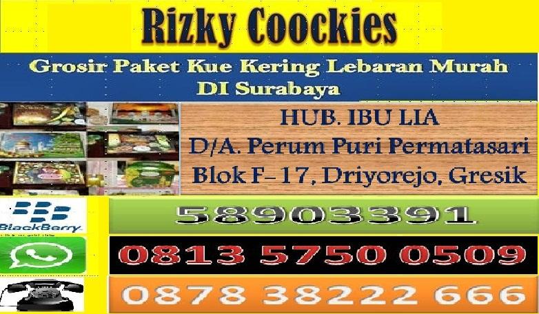 Grosir Paket Kue Kering di Surabaya 2016