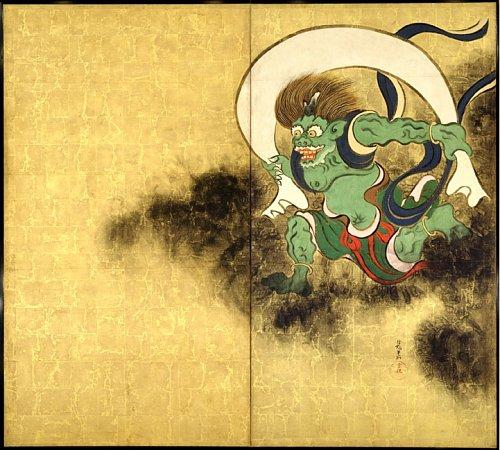 God of the week: Fujin: Japanese God of Wind