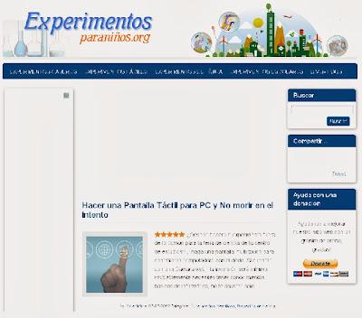 http://www.experimentosparaniños.org/