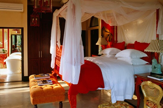 Safari Fusion blog | A colour safari | Cultured eclectic style of Royal Malewane's Africa House, South Africa