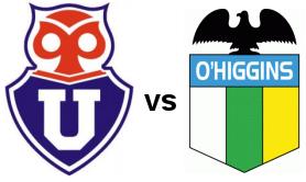 Imagen U de Chile vs O'Higgins 04 de Junio 2011