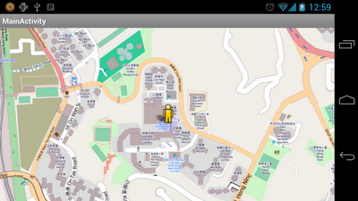 osmdroid MapView - to follow user location