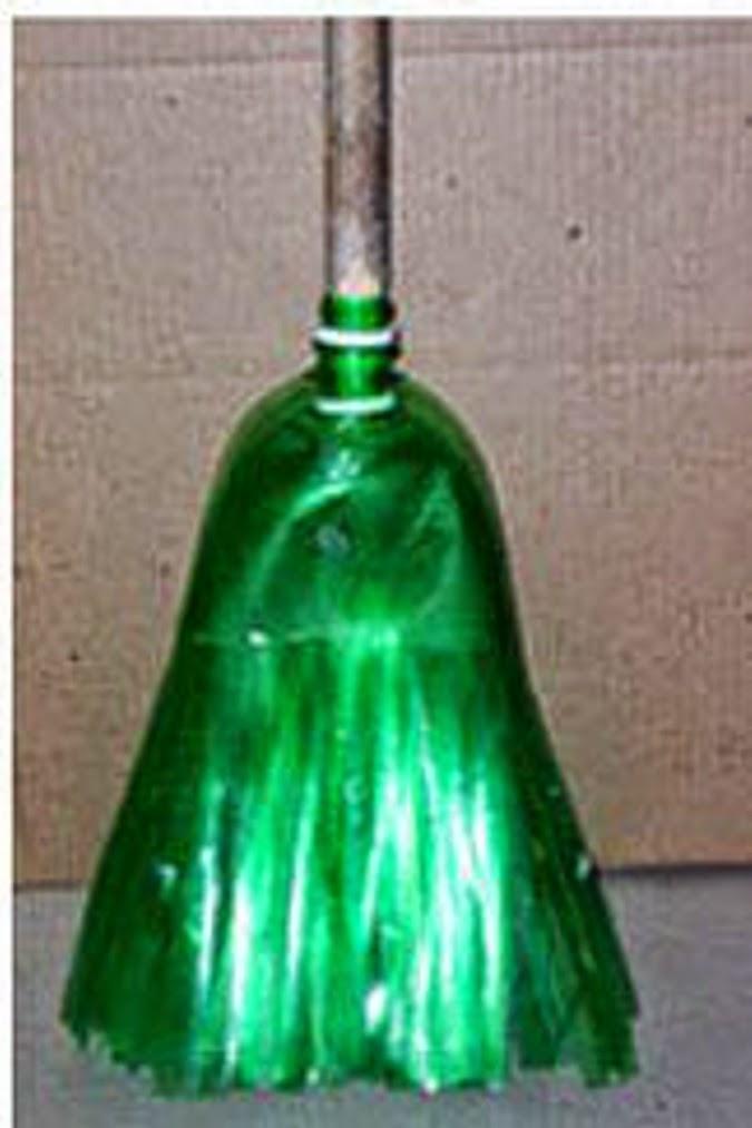 #T27 DIY: Escoba con botella de plastico