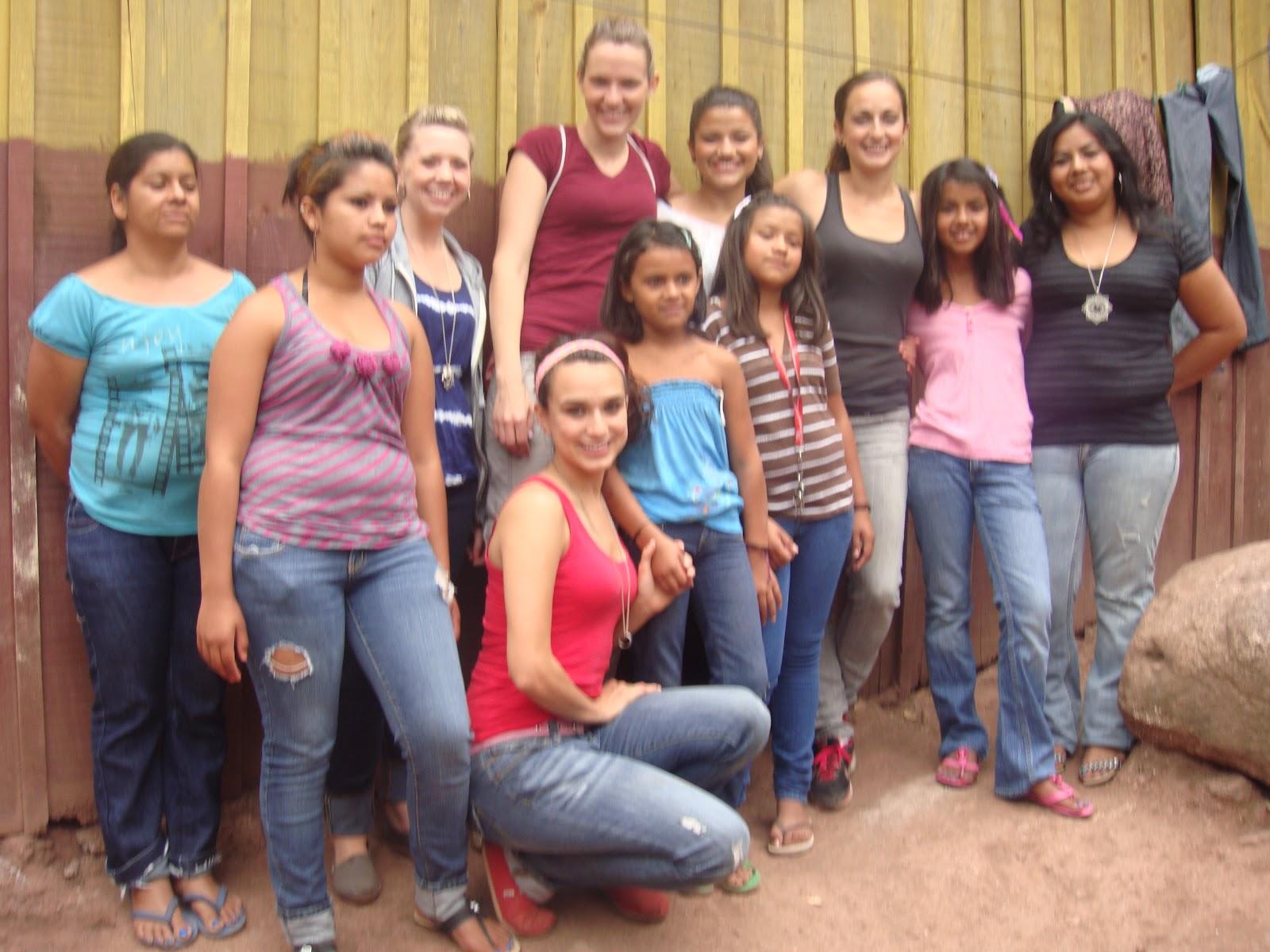 a teen girl's bible study.