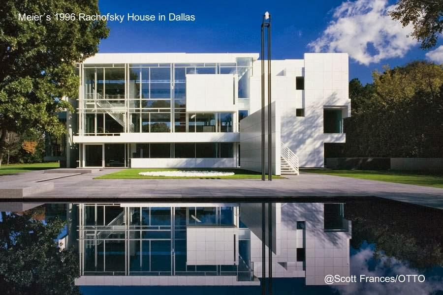 Rachofsky House en Dallas, Texas obra de Richard Meier
