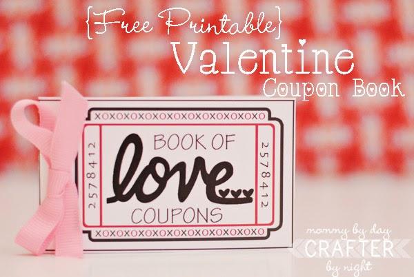 Cupones para San Valentín para Imprimir Gratis.