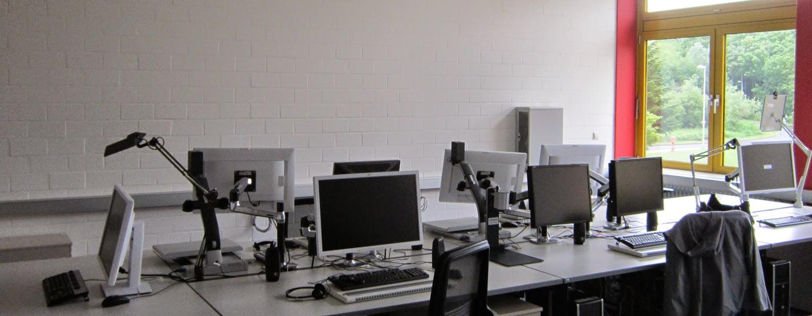 Fotografia panorâmica da sala para o projeto DADO