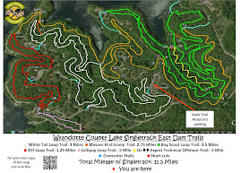 EAST DAM TRAIL MAP