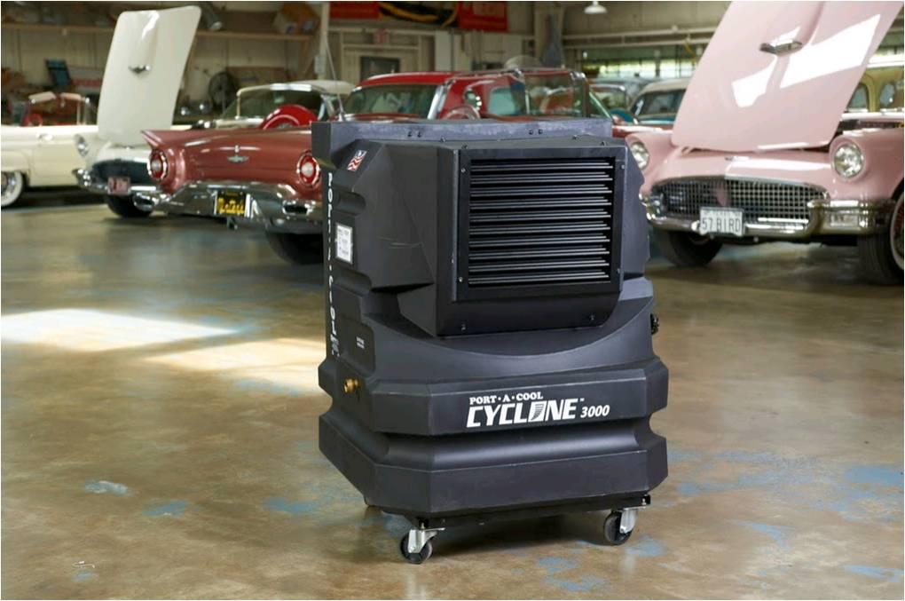 Portool portable evaporative cooling: Cyclone 3000