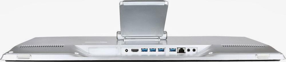 моноблок MSI Adora 24G 0NC с нижней стороны