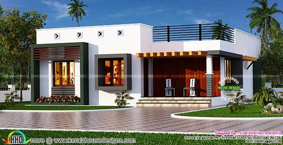 Box type single floor house