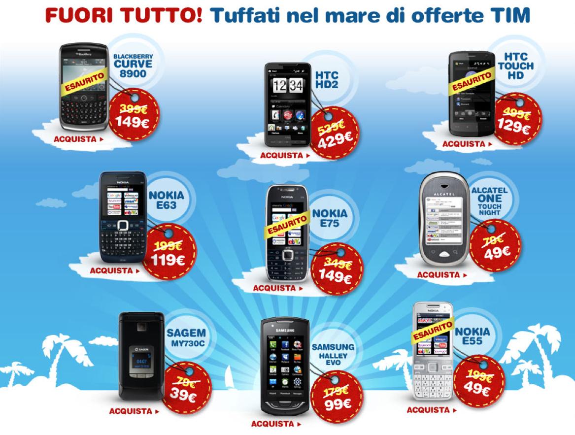 Offerte tim smartphone in bolletta for Amazon offerte cellulari