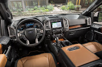 Ford F-150 Limited SuperCrew (2016) Dashboard