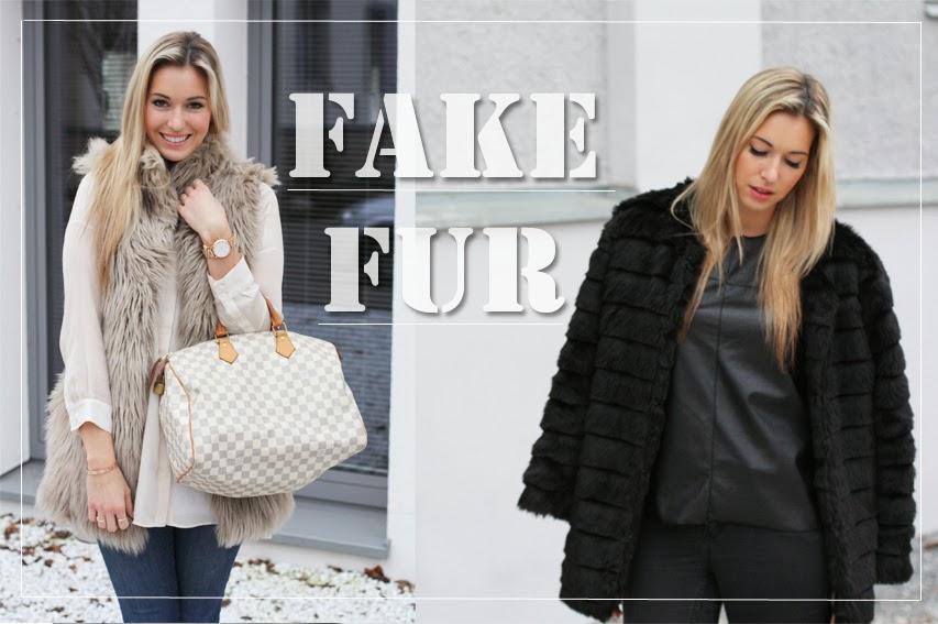 Fake Fur, Kunstpelz, Fake Fur Jacke, Patrizia Paul, ThePasteBlog