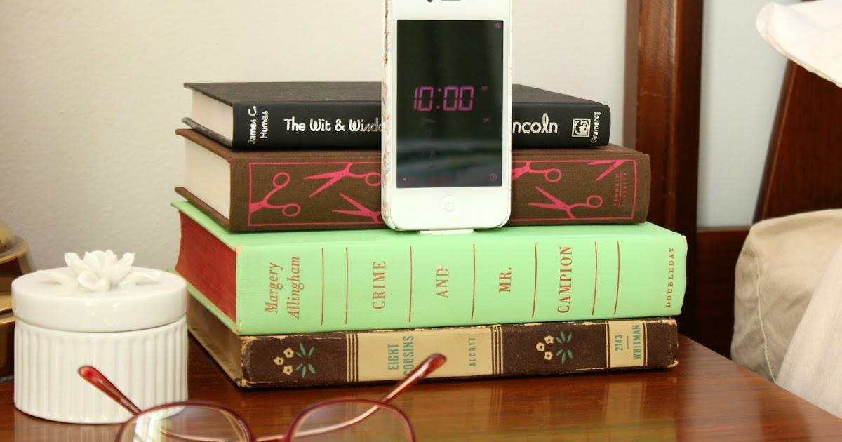 Little Lovelies Tutorial Diy Book Iphone Dock