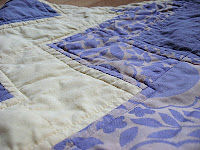 Lila Zig-Zag-Quilt