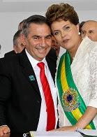Gilberto Carvalho & Dilma Rousseff.