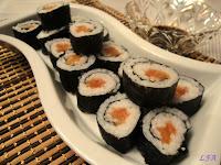 Sushi- maki rolls variados
