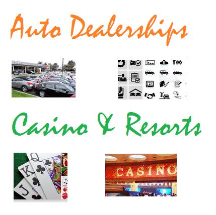Auto Dealerships & Casino