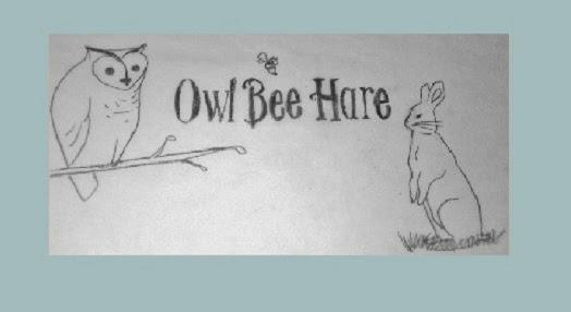 owl bee hare