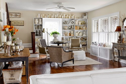Vintage Chic Home Tour - Style Me Pretty Living