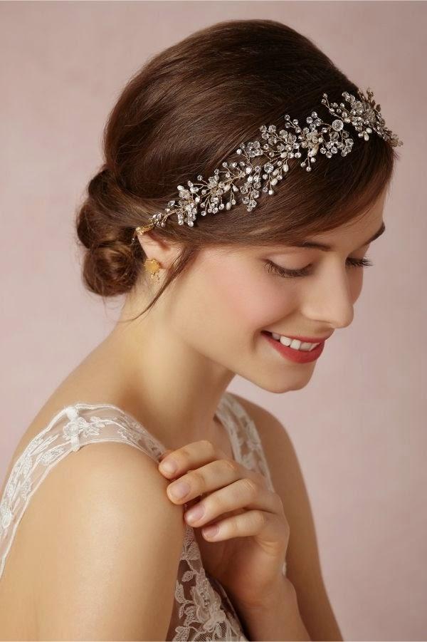 peinados para novia con diadema ms de ideas sobre estilos de cabello con diademas