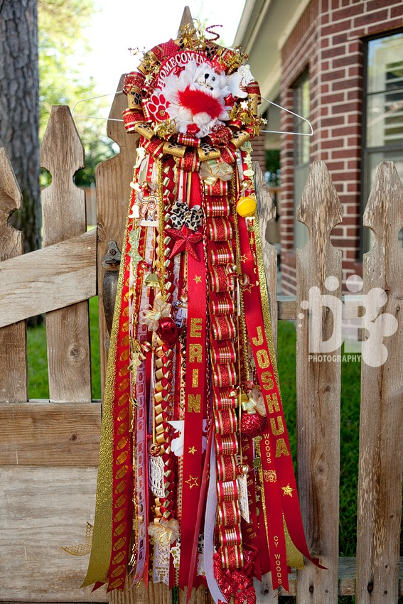 More Ole Texas Homecoming Mums