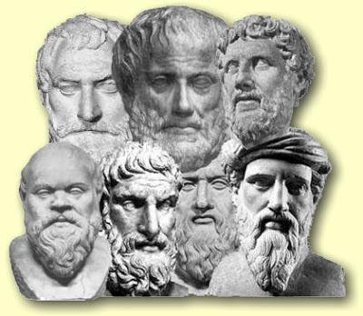 los griegos no solamente indagaron por la naturaleza profunda