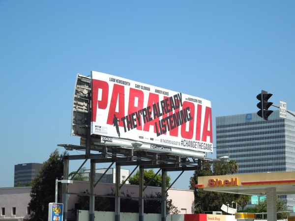 Paranoia They're Already Listening billboard