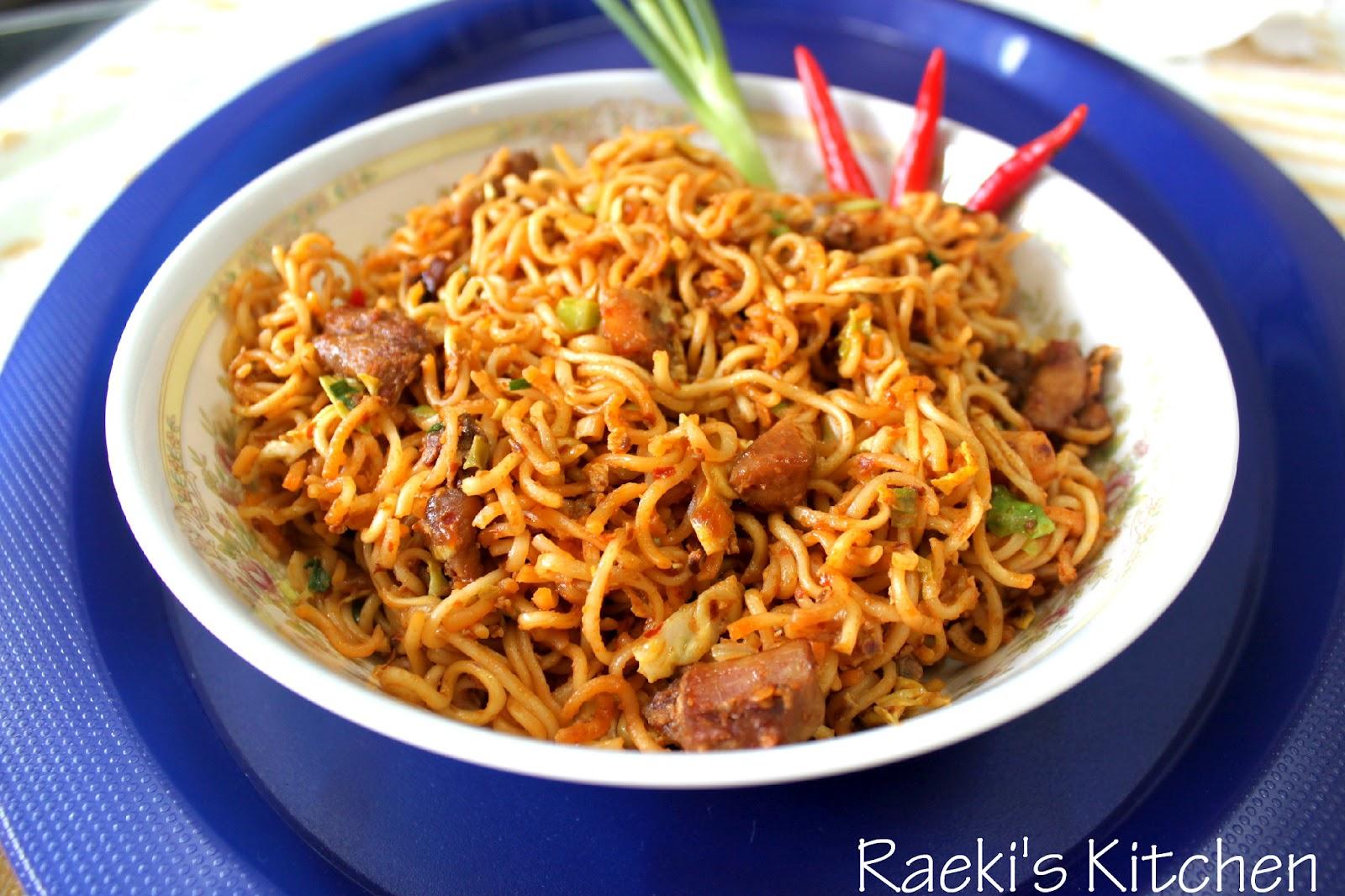 Raeki's Kitchen: Indian Mee Goreng