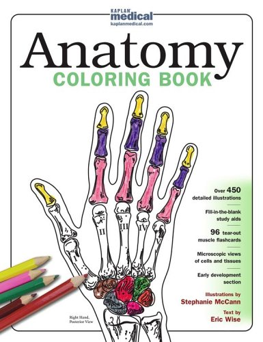Download free pharmacy and medical books kaplan anatomy Anatomy coloring book 6th edition
