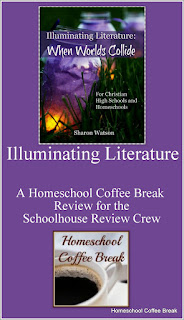 Illuminating Literature: When Worlds Collide from Writing With Sharon Watson - a Homeschool Coffee Break review for the Schoolhouse Review Crew @ kympossibleblog.blogspot.com #literature